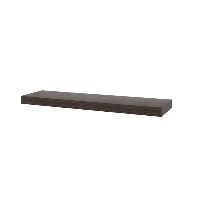 Floating Shelf Dark Wood 50mm