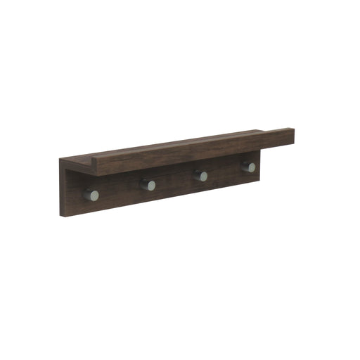 Hello Home Coat Hanger Dark Wood 480×100×112MM