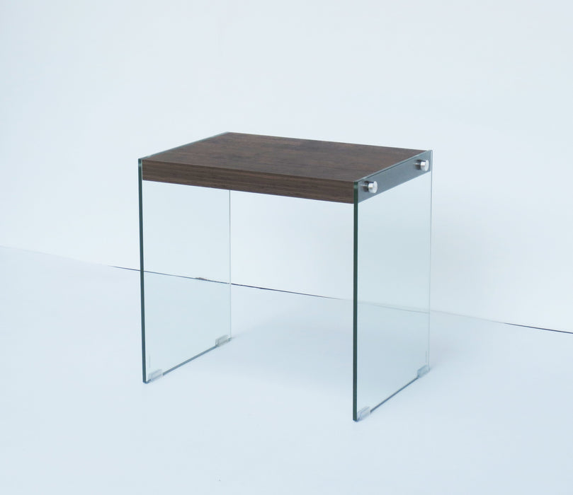 Hello Home Side Table Dark Wood