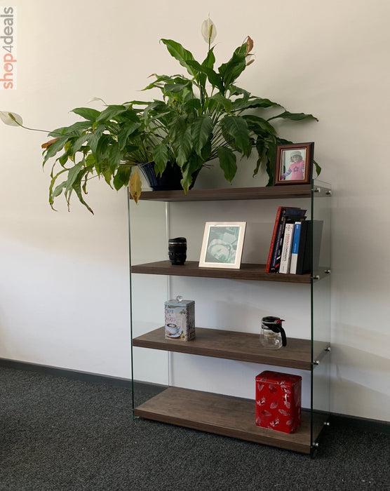 Hello Home Book Shelf Dark Wood