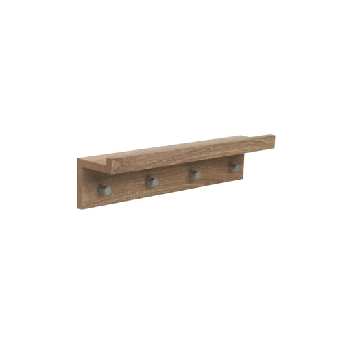 Hello Home Coat Hanger Washed Oak 480×100×112MM
