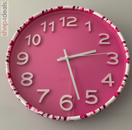 Hello Home Pink Bedroom Clocks