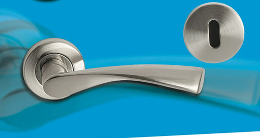 Hello Home Neptune Handle Aluminium Satin Nickle