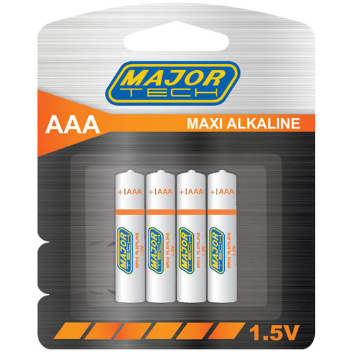 Major Tech AAA Maxi Alkaline Batteries