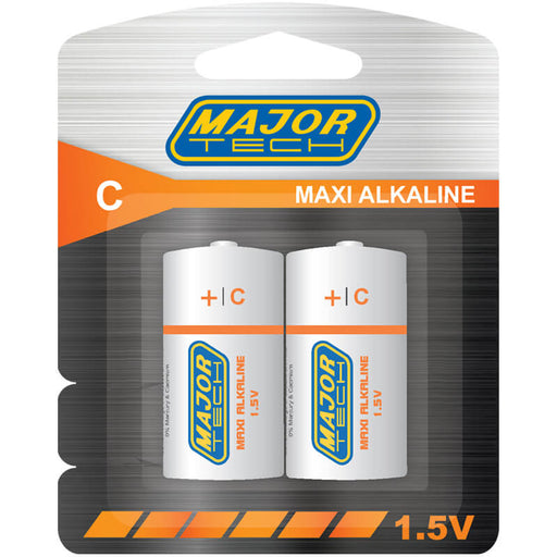 Major Tech C Maxi Alkaline Batteries