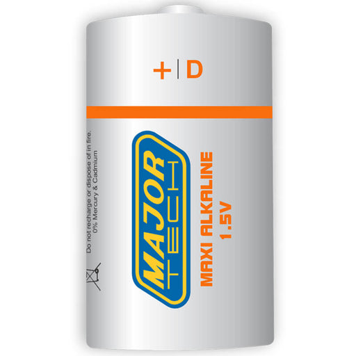 Major Tech D Maxi Alkaline Battery