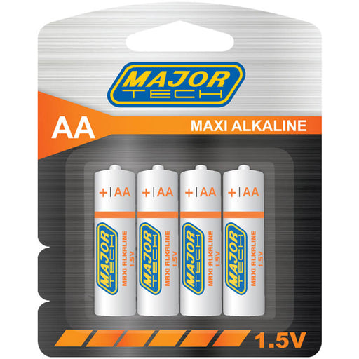 Major Tech AA Maxi Alkaline Batteries