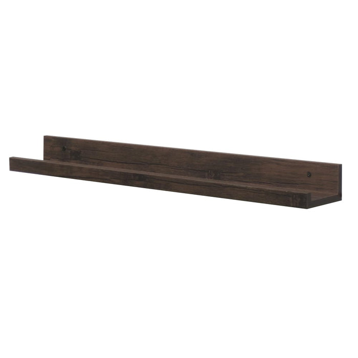 Hello Home Picture Ledge Dark Wood