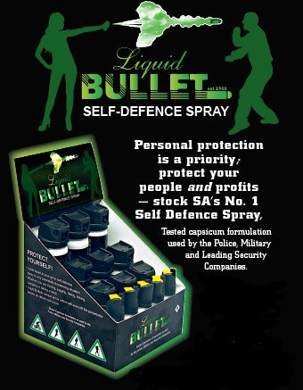 Liquid Bullet Pepper Spray Starter Kit