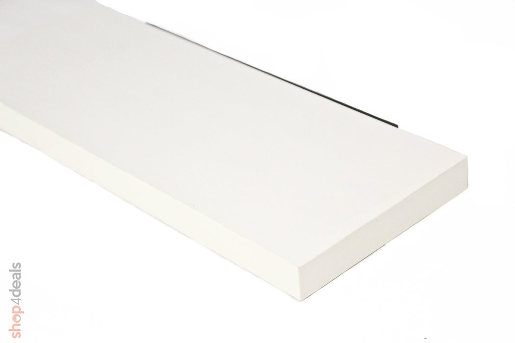 Floating Shelf White 38mm