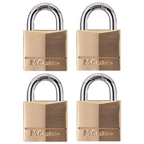 Master Lock Brass Padlock Keyed Alike