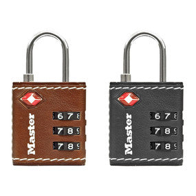 Master Lock Luggage Aluminium Combination TSA Padlock