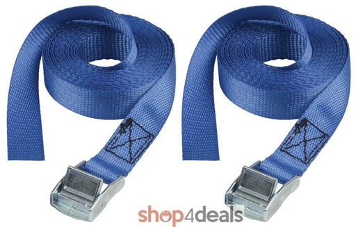 Master Lock Cargo Strap 5 Meter Tie Down Two Pack With Buckle 2500MM