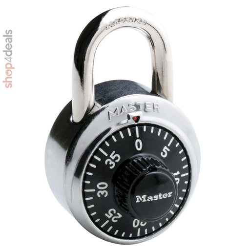 Master Lock Combination Spin Dial Padlock 48MM
