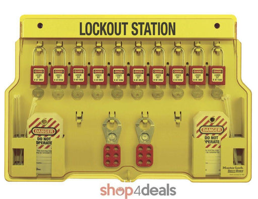 Master Lock Safety Series Lockout Station Complete