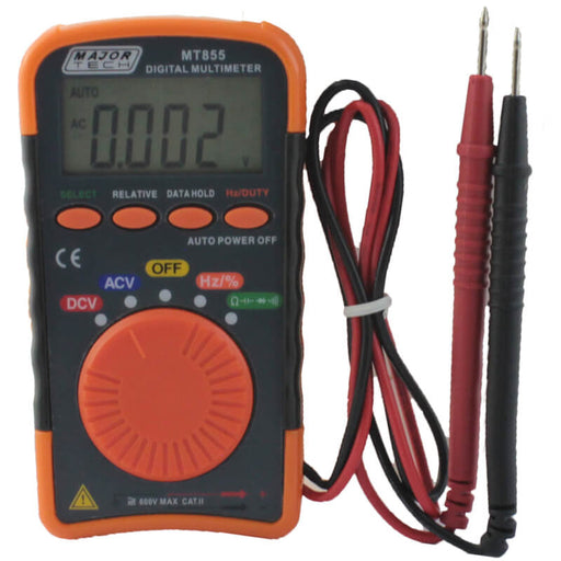 Major Tech Pocket Digital Multimeter