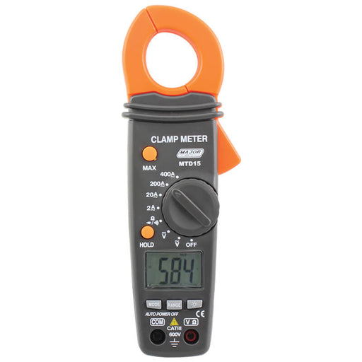Major Tech Digital Clamp Meter 400A AC