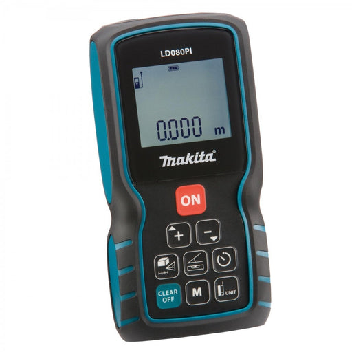 Makita Laser Distance Measurer LD080PI(80M Range)