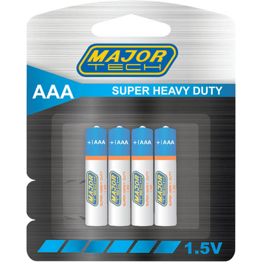 Major Tech AAA Super Heavy Duty Batteries