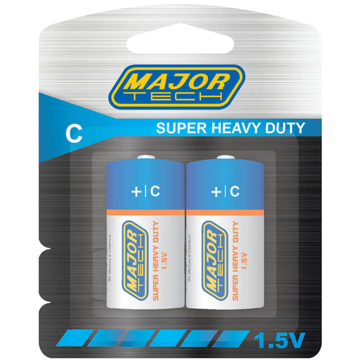 Major Tech C Super Heavy Duty Batteries