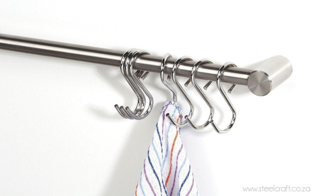 Rail System Five S-hooks, Rail System Five S-hooks, Bathroom Ware, Steelcraft, steelcraft.co.za , www.steelcraft.co.za