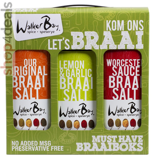 Walker Bay Gift Set - Braai Salts