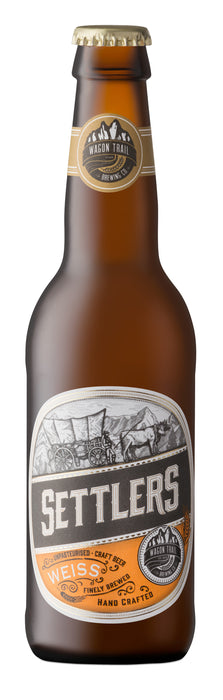 Wagon Trail Settlers Weiss Craft Beer 340ml