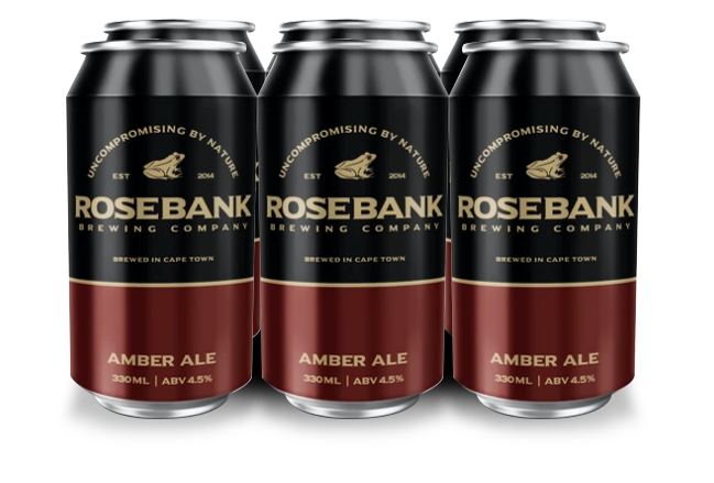 Saggy Stone Rosebank Amber Ale 330ml