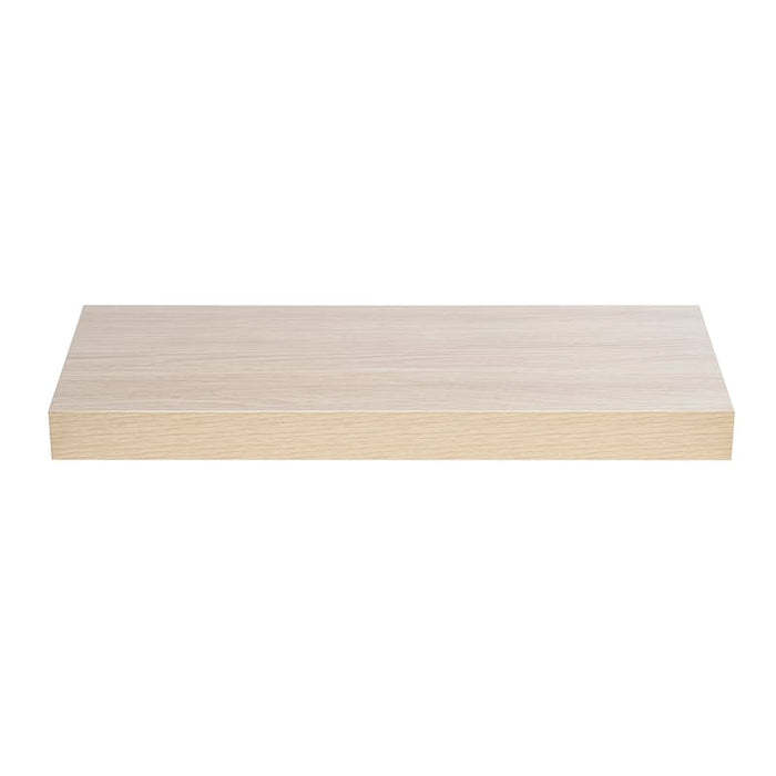 Floating Shelf Light Oak 50mm
