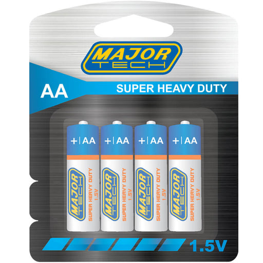 Major Tech AA Super Heavy Duty Batteries