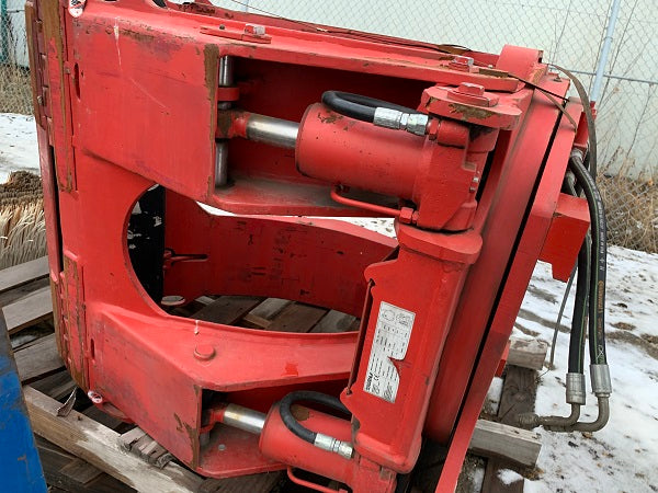 Bugle Forklift Bolzoni Paper Roll Clamp
