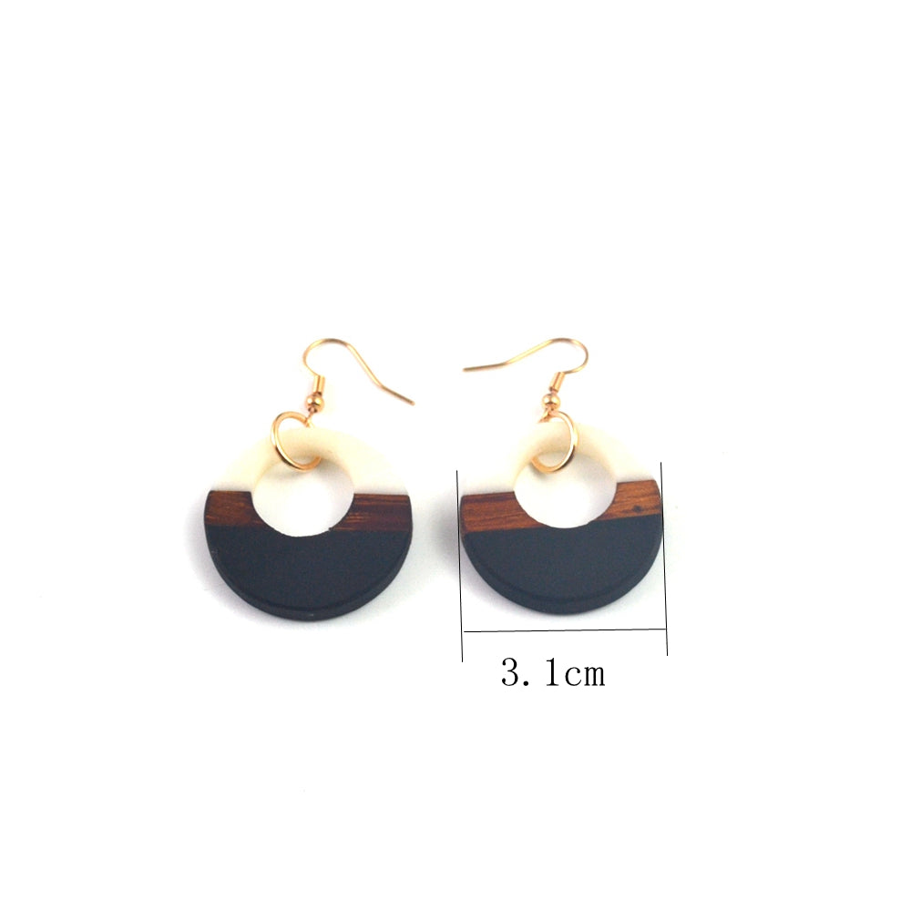 """Epox Earring - Black/White"""