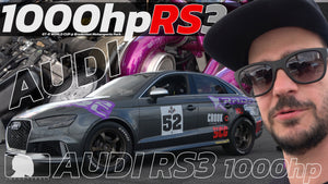 1000hp Audi RS3 @ GTR world cup test & tune class (car review)