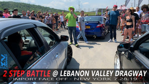 2 Step Battle Import face off @ West Lebanon New York