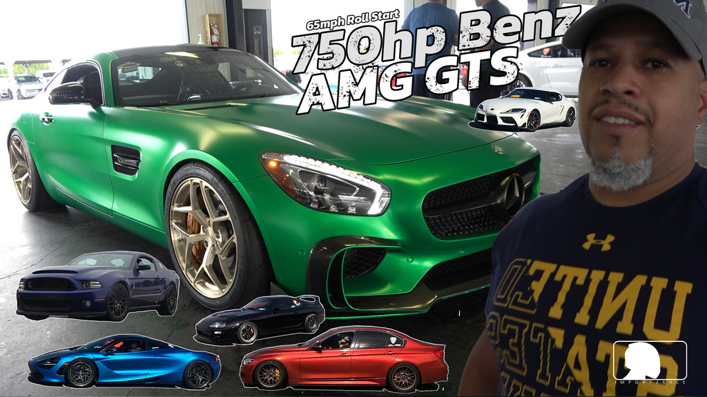 750hp Mercedes Benz AMG GTS Modified with pure 900 turbo
