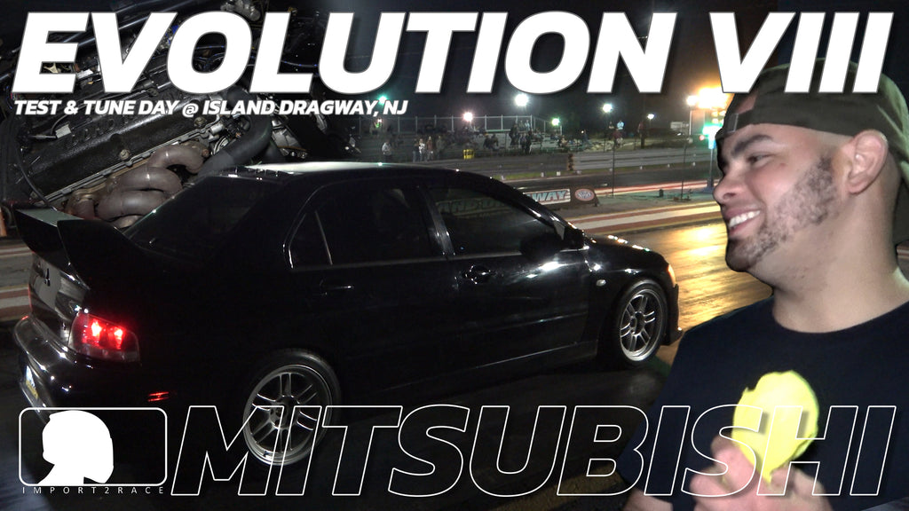 EVOLUTION VIII vs Subaru vs Mustang vs 300M