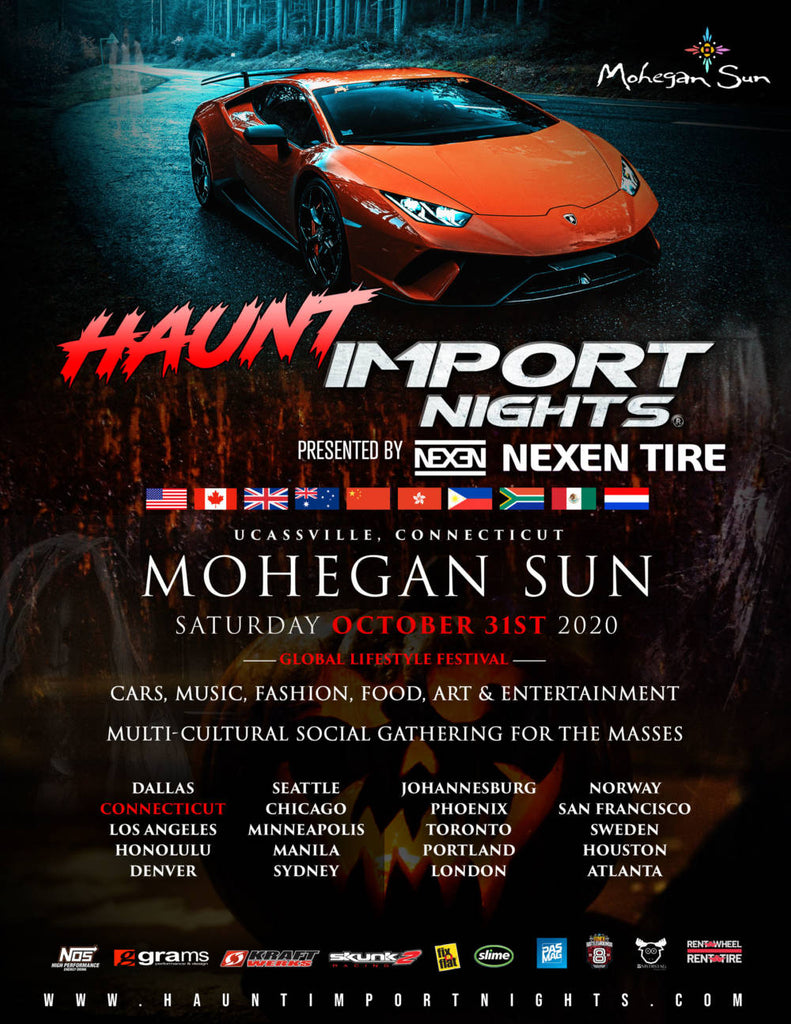 HAUNT Import Nights @ Mohegan Sun