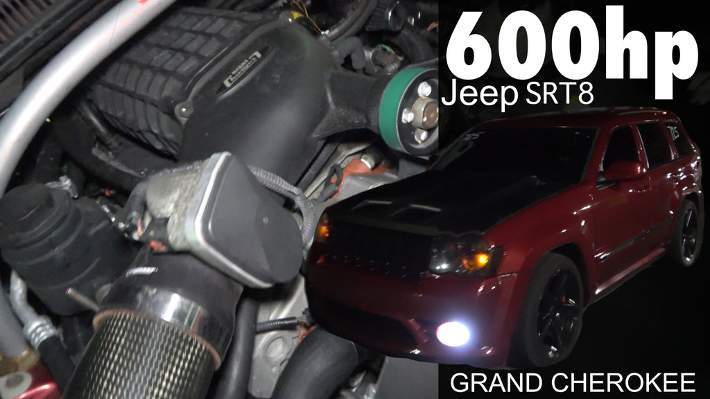 600hp Jeep SRT8 Magnuson Supercharger