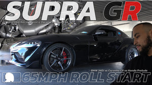 Toyota Supra GR vs Honda Prelude @ SlipStream Racing Event in Pocono Raceway, PA