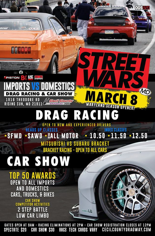 Street Wars @ Cecil County Dragway