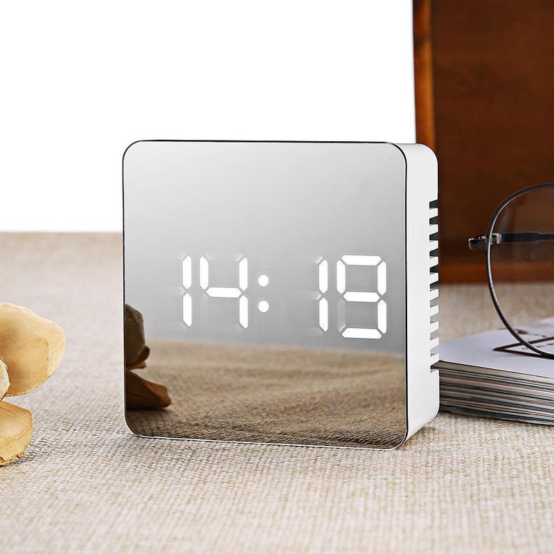 Smart Mirror Led Alarm Clock