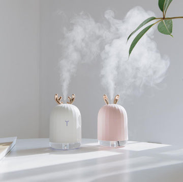Mini Rabbit Air Humidifier with Breathing Light