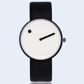 Dot and Line Minimalist Watch