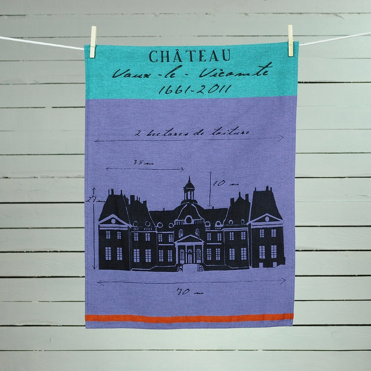 chateau_vaux_le_vicomte_tea_towel