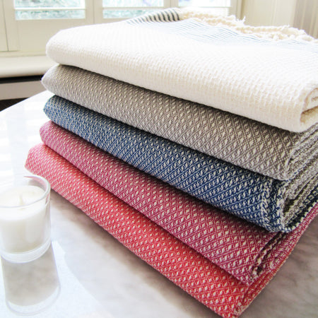 Honeycomb - Large Cotton Bathroom Towel