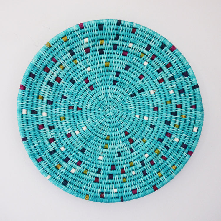 Confetti Wall Disk- Turquoise
