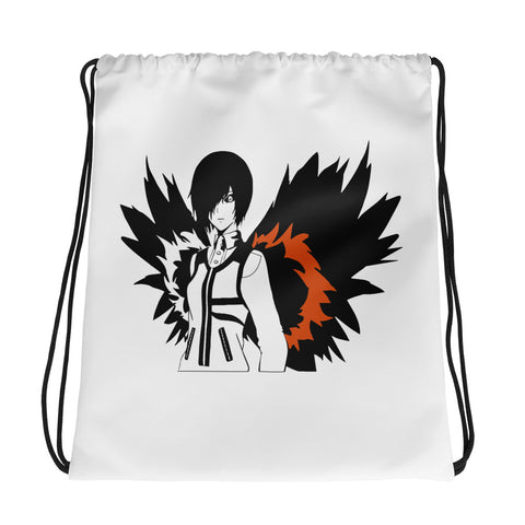 Anime on fire bag