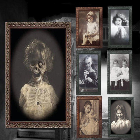 3D Ghost Picture Frame For Halloween Decoration