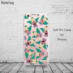 Cartoon Krusty Soft Cell Phone Case For iPhone