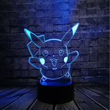Pokemon 3D RGB Lamp